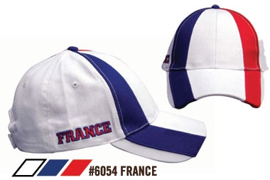 Soccer Caps - France Supporters Cap