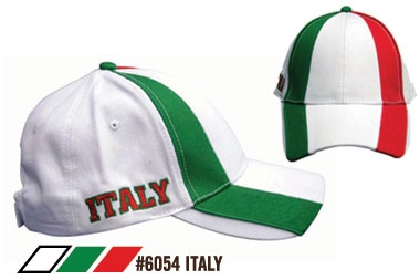 Soccer Caps - Italy Supporters Cap