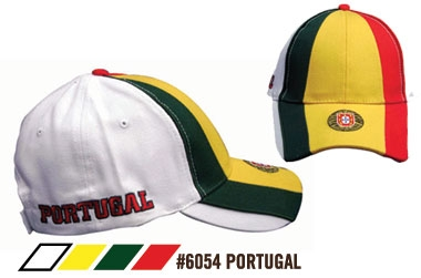 Soccer Caps - Portugal Supporters Cap