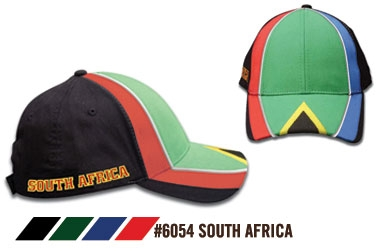 Soccer Caps - South Africa Supporters Cap