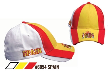 Soccer Caps - Spain Supporters Cap